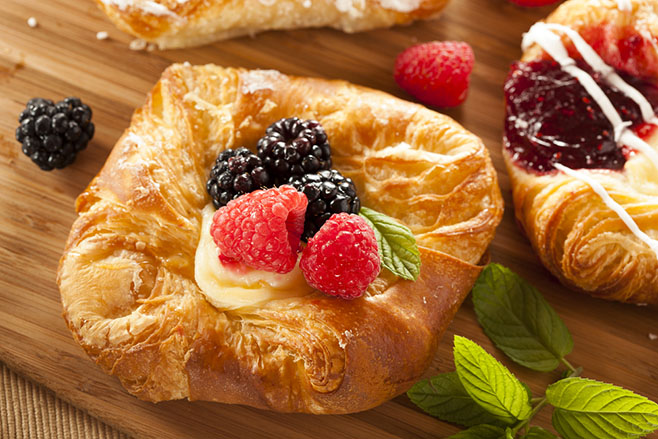 Puff Pastry Crown